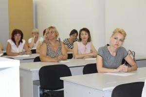 Совещание представителей службы государственной статистики Саратовской области