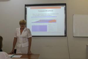 Совещание представителей службы государственной статистики Саратовской области - 2